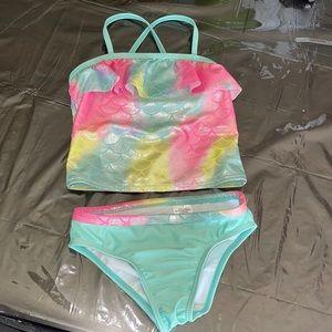 toddler girls size 5T bikini swim suit